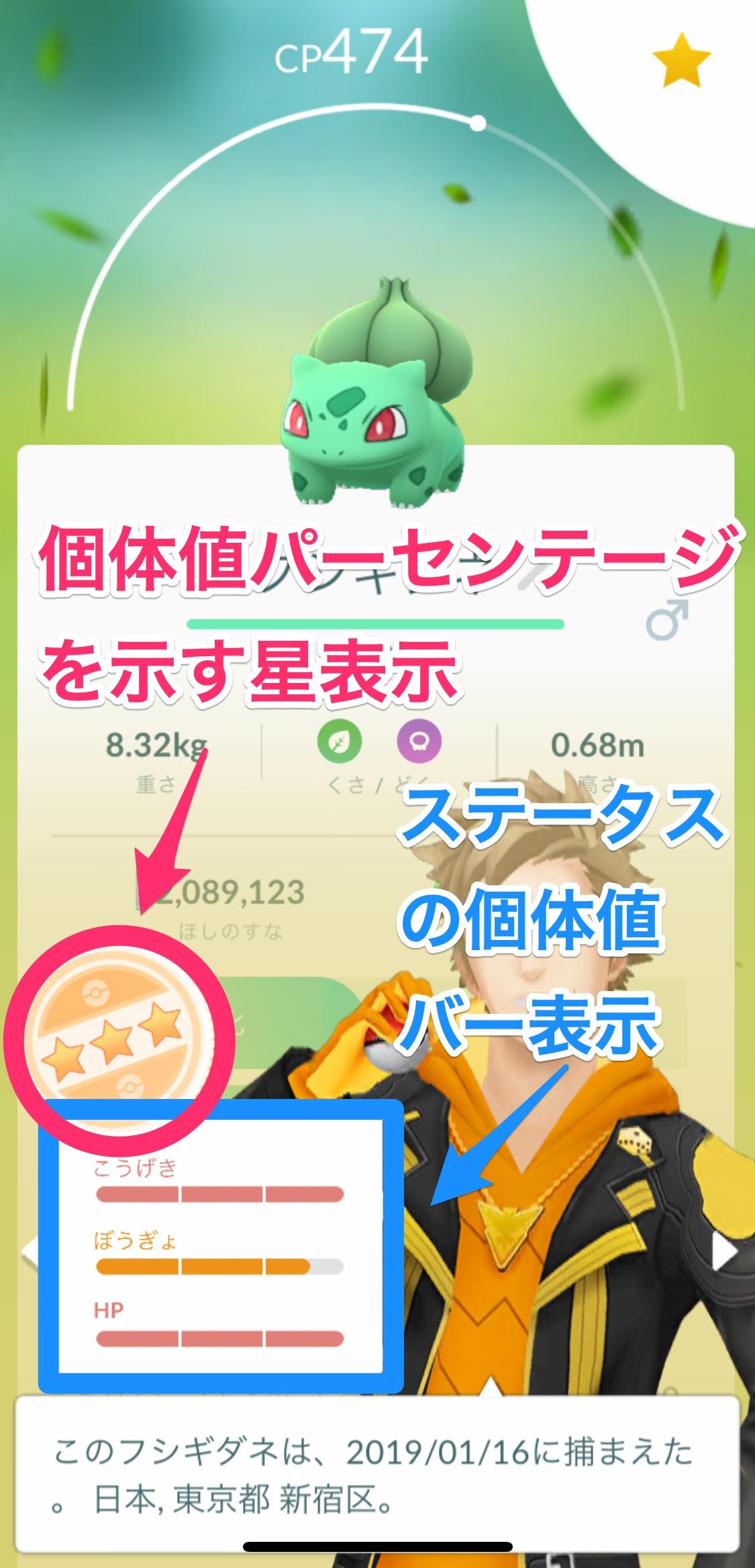 検索 ポケモン 個体 値 go